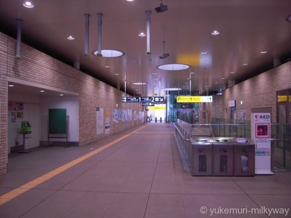 東北沢駅 東口改札内