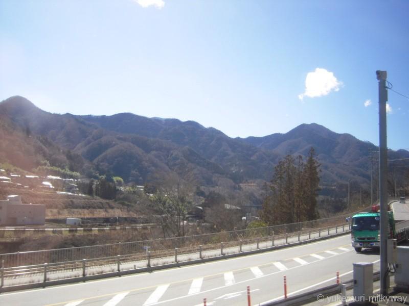 JR東日本E351系 特急 スーパーあずさ15号 松本行き 長モトS1編成 モハE350-1101 @四方津~梁川 車窓 18-03-01