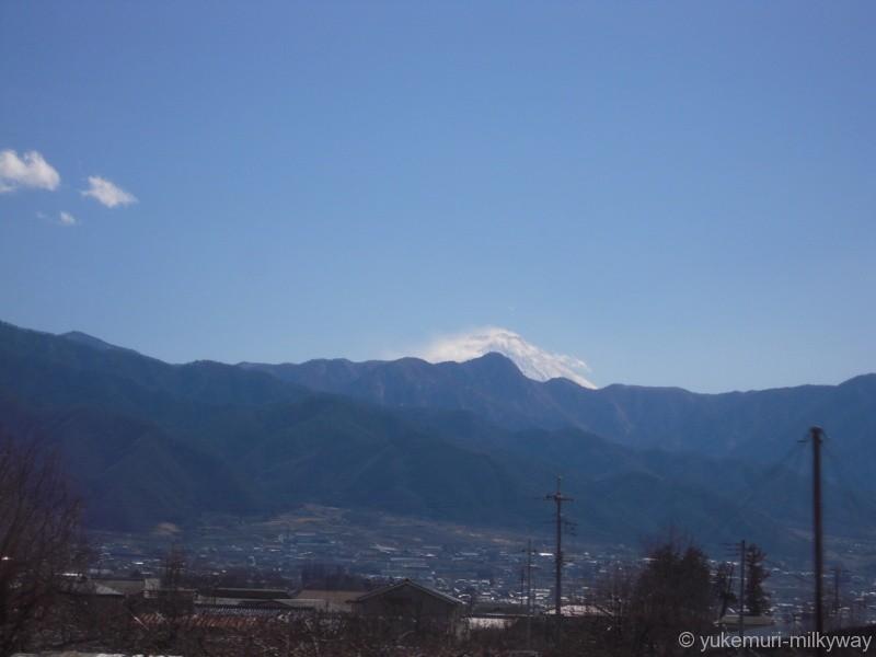 JR東日本E351系 特急 スーパーあずさ15号 松本行き 長モトS1編成 モハE350-1101 @塩山~東山梨 18-03-01