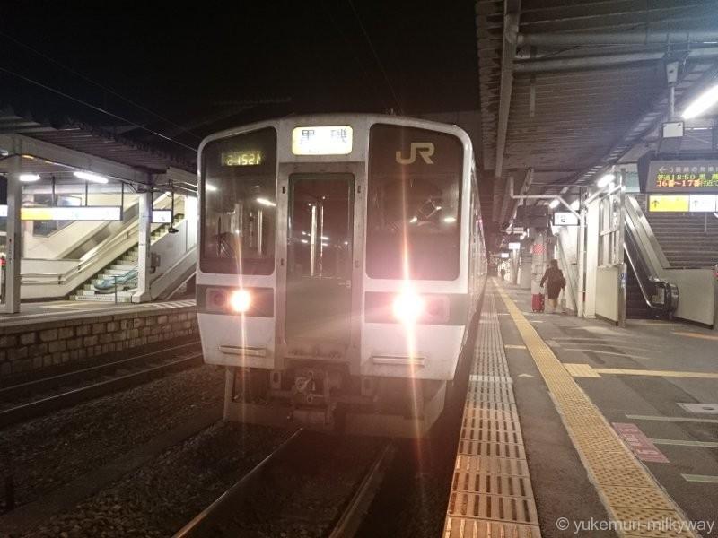JR東日本 719系 普通 黒磯行き クハ718-23 @福島 15-09-26