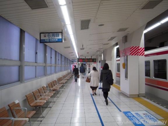 東武浅草駅 5番ホーム