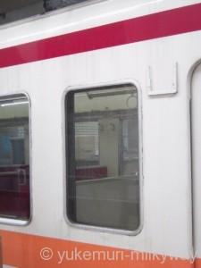 東武6050系 区間快速新藤原止まり 窓回り 6168F モハ6168 @浅草
