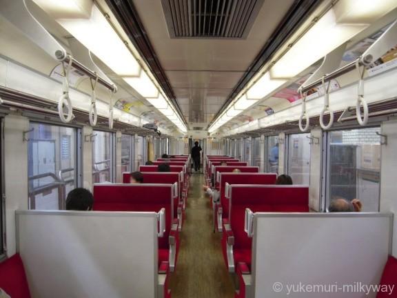 東武6050系 区間快速新藤原止まり 車内 6168F モハ6168 @浅草