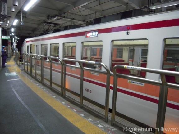 東武浅草駅 5番ホーム先端部